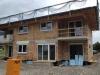 Oberlangkampfen BA1: Der Rohbau mit Dach