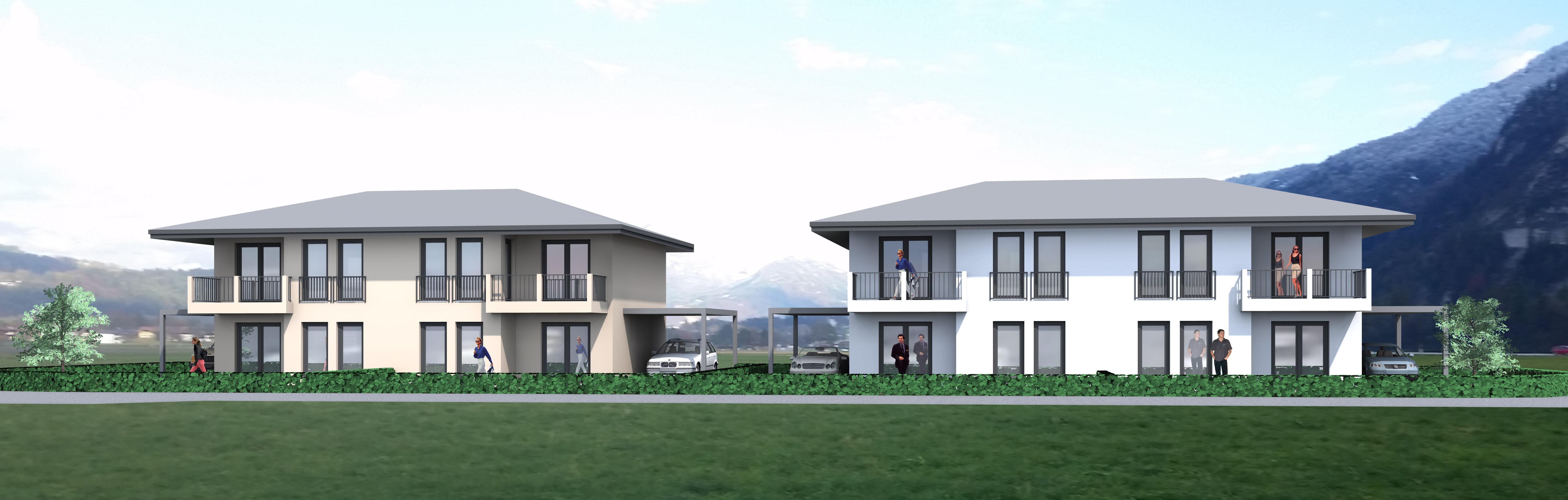 Doppelhäuser in Kundl